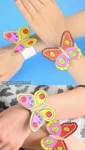 Bracciali con farfalle
