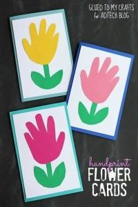 Fiori impronta mani (2)
